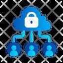 Connection Cloud Internet Icon