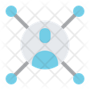 User Connection User Sharing User Network Icon