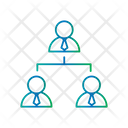 User Contribution Network Connection Icon