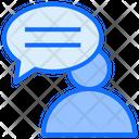 User Conversation Icon