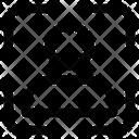 User Dash Frame Avatar Man Icon