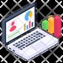 Descriptive Data User Data User Analysis Icon