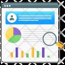 Data Analytics User Data Analysis Business Analysis Icon