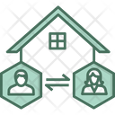 User Home Connection Icon