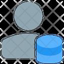 User Database Database Admin Employee Data Icon