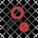 User Denied Forbidden Icon