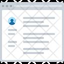 User Description Details Profile Icon