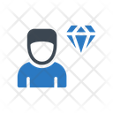 Employee Diamond Value Icon