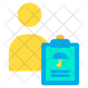 User Document Health Care Icon