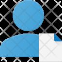 Document People User Icon