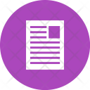 Document User File Icon