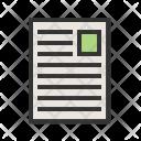 Document File User Icon