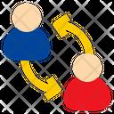 User Exchange Transfer Icon