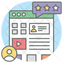 User Experience Web Page Ranking Client Feedback Icon