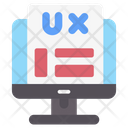 User Experience User Interface Web Design Icon