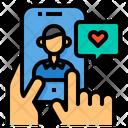 Feedback Rating Smartphone Icon