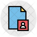 User File Sheet Office Icon