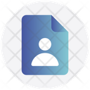 User File Document Icon
