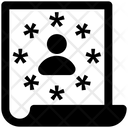 User File Author Document Icon