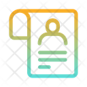 User File User Document Employee Document Icon