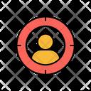 User Focus Profile Focus User Target Icon