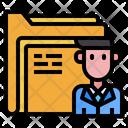 File Man Avatar Icon