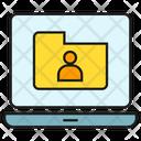 User Folder Archive Profile Icon