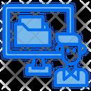 Computer Folder Data Icon