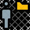 User Folder Employee Data Folder Icon
