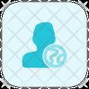 User Globe Icon