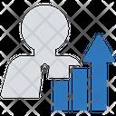 Worker Data Business Businessman Icon