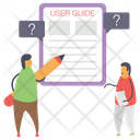 User Guide Book Icon