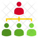 User Hierarchy People People Hierarchy Icon