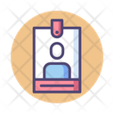 Iuser Pass User Pass User Id Card Icon
