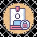Iuser Locked User Id Lock User Id Security Icon