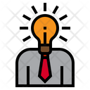Creative Businessman Icon