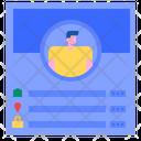 User Information User Profile Information Icon