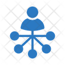 Connection Network Account Icon