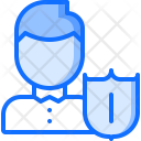 User Insurance Protection Icon