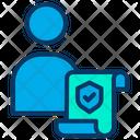 User Insurance Icon