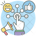 User Interaction Connectivity Communication Interaction Icon