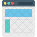 User Interface Web Design Web Layout Icon