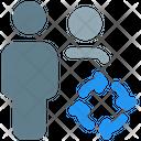 User Loading Profile Loading Profile Process Icon