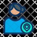 User Location Profile Location Female Profile Icon