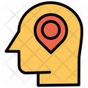 User Location Human Location Mind Icon