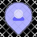 User-location Icon