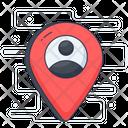 User Location Location Pointer Location Pin Icon