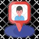 Nearby User Location Peron Location Icon