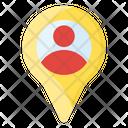 User Location Person Location Location Pin Icon