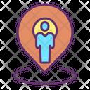 Muserlocation Map Pin User Location Person Location Icon